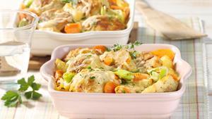 Pfanni recipe |  Casserole