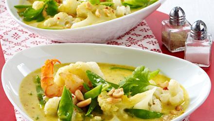blumenkohl curry suppe rezept pfanni. Black Bedroom Furniture Sets. Home Design Ideas